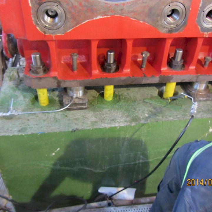 Report: Foundations and Grout for Rotating Machinery