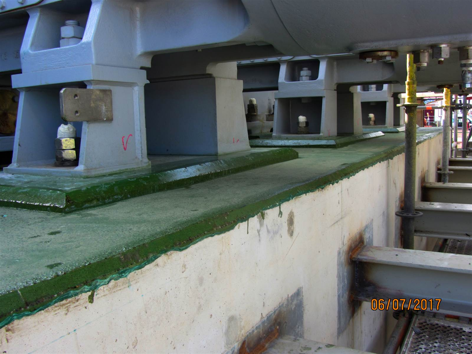 Resins and Grouts application